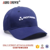 custom embroidery navy blue baseball cap