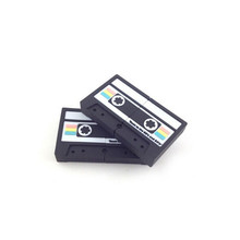 custom logo 2gb 4gb 8gb 16gb pvc cassette tape usb flash drive