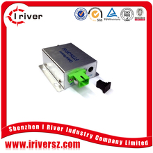 ftth catv optical receiver node price -9~-2dBm, 2 RF:80dBuv FTTH AGC/Filter WDM Mini Optical Receiver