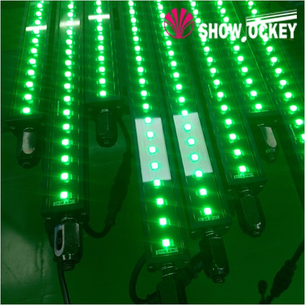 Ultra thin led strip rgb addressable dmx 512 pixel light bar