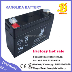 4v 3.5 Lead Acid AGM Deep Cycle Battery used for alarm system stand-by power supply