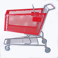 80L/100L/125L/160L/180L metal factory-directly plastic shopping trolley