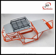 JKA Blitz 4x4 Chrome Scale Tube Chassis for Traxxas Slash 4x4 EditionHandmade Welded Tube Chassis for Slash RC Car Frame Part