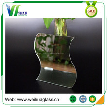 2mm 3mm 4mm 5mm Decorative Float Glass 500*700mm Aluminum Mirror