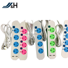 UL Listed 4 way universal power strip with usb