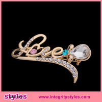High Quality Love Brooch Head Scarf Pins