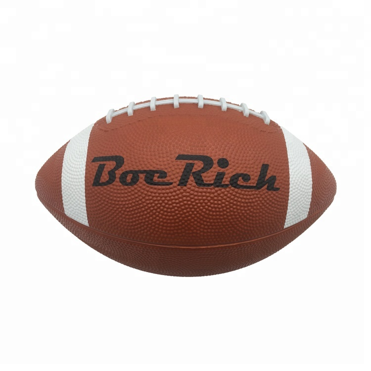 Custom Print Sport Promotional Rubber American <strong>football</strong>