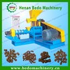 CE approved pet fish food extruding machine for tilapia fish farming