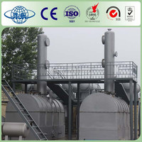 YONGLE Huayin 10T Used Tyre Recycling Machinery For Oil