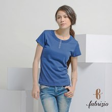 Ladies' Blouses & Tops supplierNew design Spring/Summer Colored Polyester round neck made in taiwan Women's T-shirts