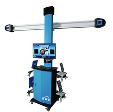 Low price auto garage equipment 3D wheel alignment machine for sale