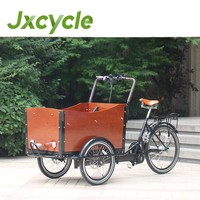non electric cargo pedal trike tricycle