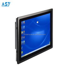 IP65 bezel 1280x1024 resolution i3 all in one touch screen pc 2gb ram win7 computer