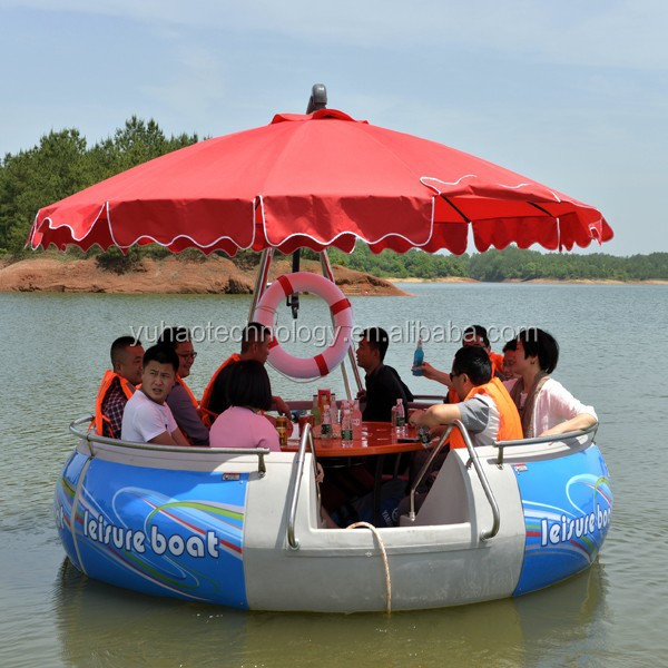 Leisure boat, BBQ donut boat factory supply