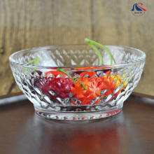 Glassware Food Container 5.5inch Antique Glass Fruit Bowl