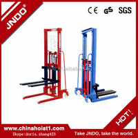 1t 2000mm lift rack jacks manual pallet jack