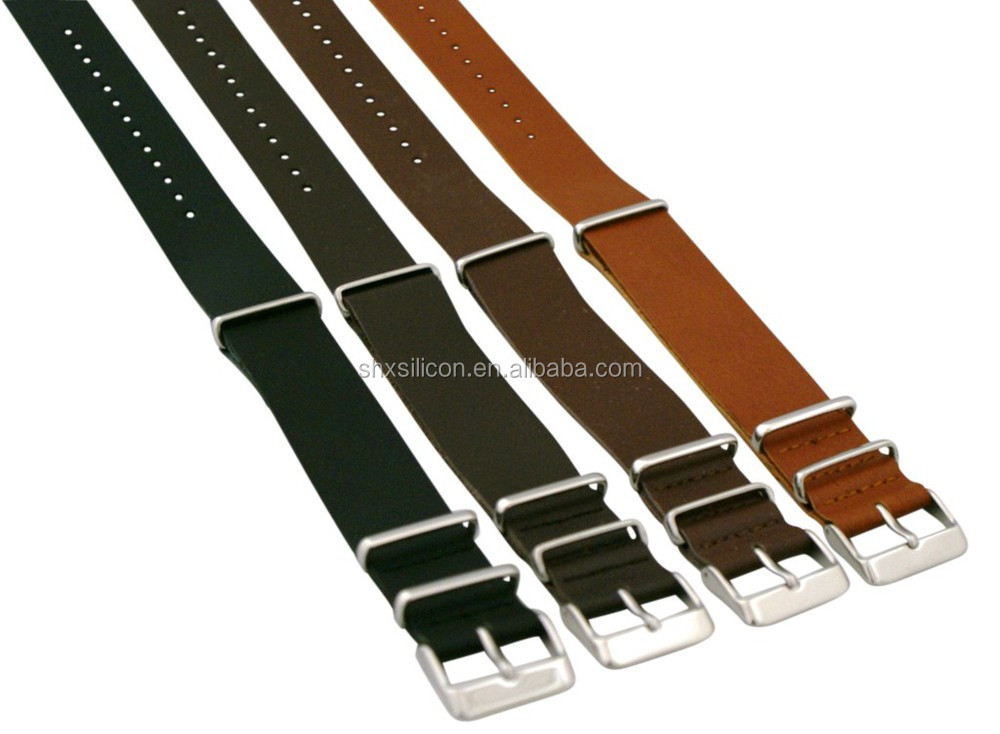 top quality integrated leather western watch band manufacturer