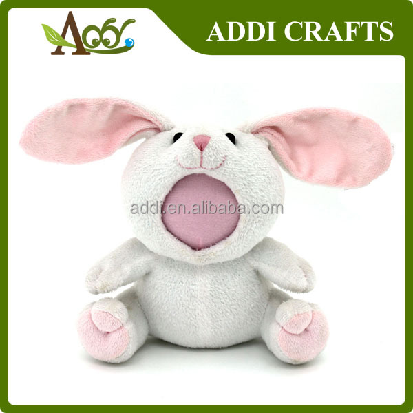 3D Face Plush Rabbit Toy