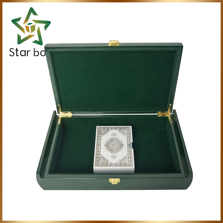 Good Quality Islam Style Wooden Gift Box For Holy Quran