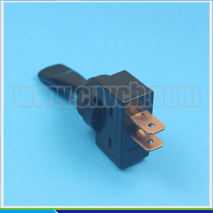 AS17 IBA-13-101 20A 12VDC momentary switch momentary duckbill toggle switch black Duckbill Switch