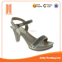 Wholesale China sandals for women fashion shoes women high heel shoes
