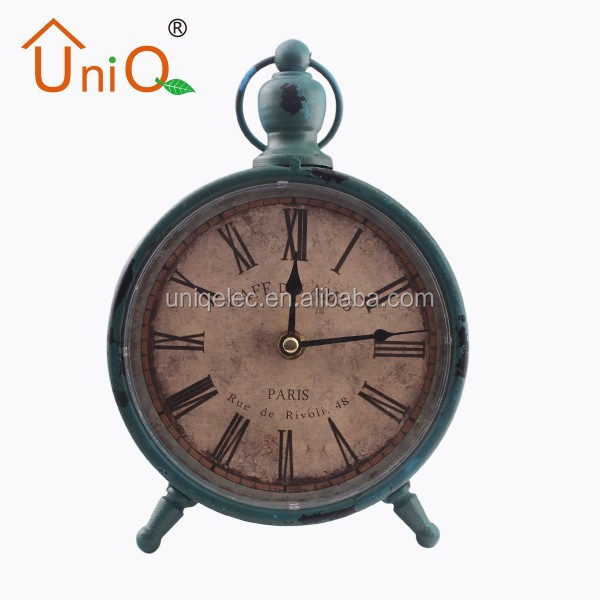 Vintage Retro Old Fashioned Silent Desk Alarm Clock
