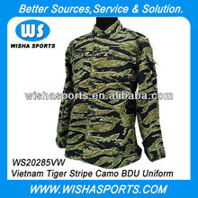 Vietnam Tiger Stripe Camo Tactical Suit Army Uniform