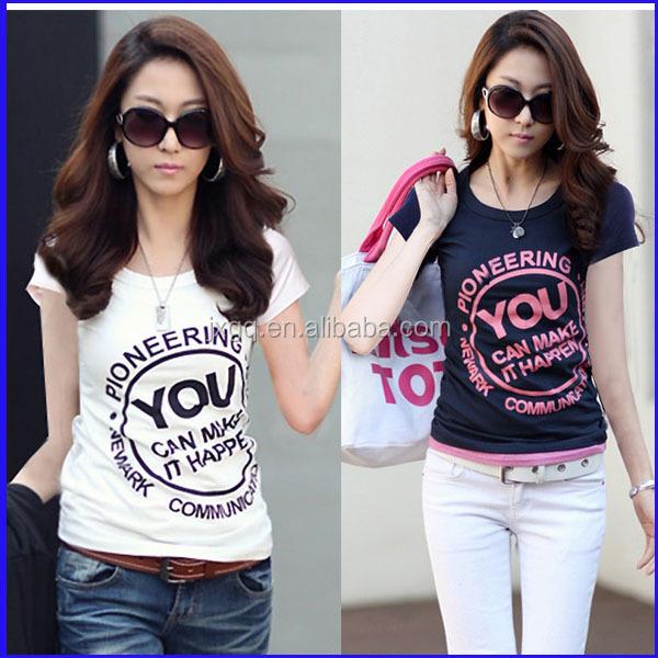 Latest Fashion Top Brand 100 Cotton Wholesale T Shirt
