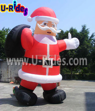 Inflatable Christmas Santa Man Cartoon Christmas Model for outdoor