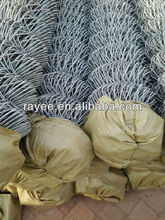 electro galvanized chain link fence producing factory