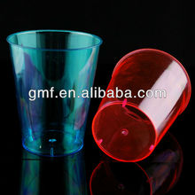 The good quality disposable plastic colorful plastic tumbler 7 oz / 200 ml *