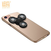 New Products 2017 Back Cover with Dismountable Fidget Spinner personalized case design durable phone case for Iphone 6/6s