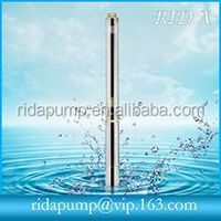 high quality low volume water deep well submersible pump