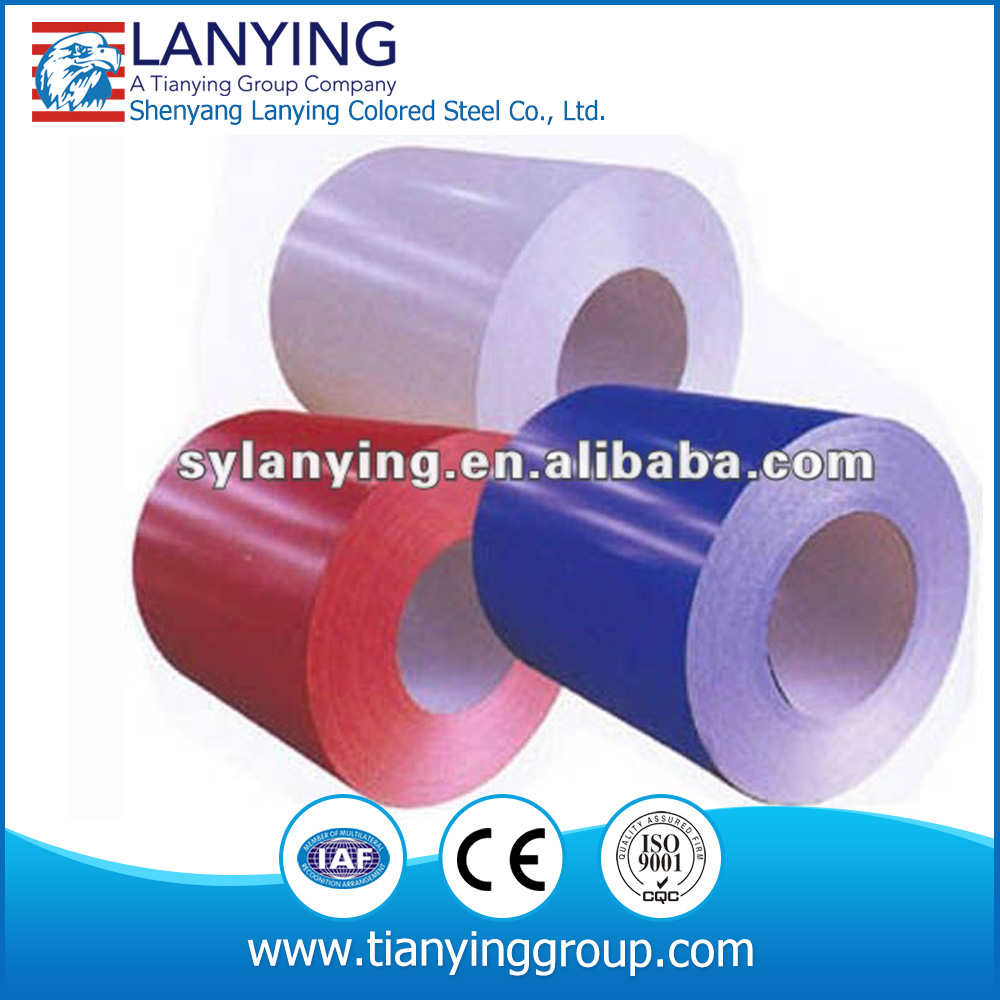hot dipped bright prepainted color coated steel coil