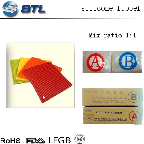Cheap silicone rubber compound