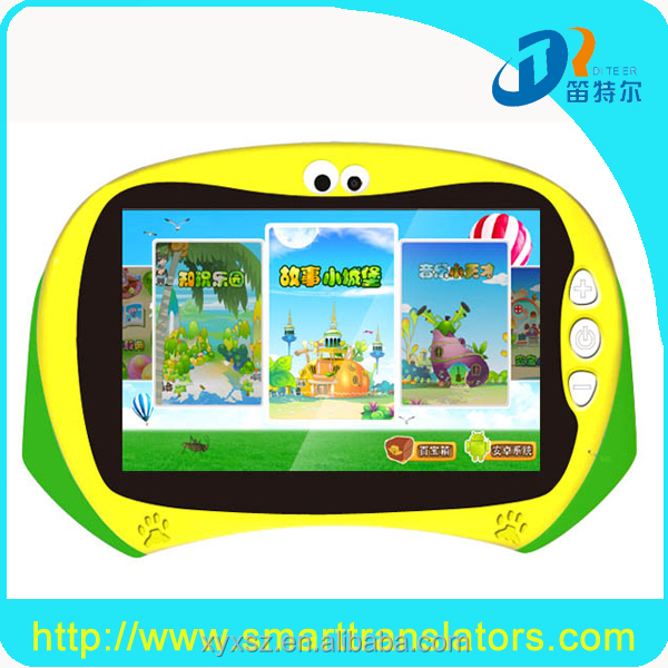 Brand new Multi functional dual core kids tablet Android Kids Educational Tablet