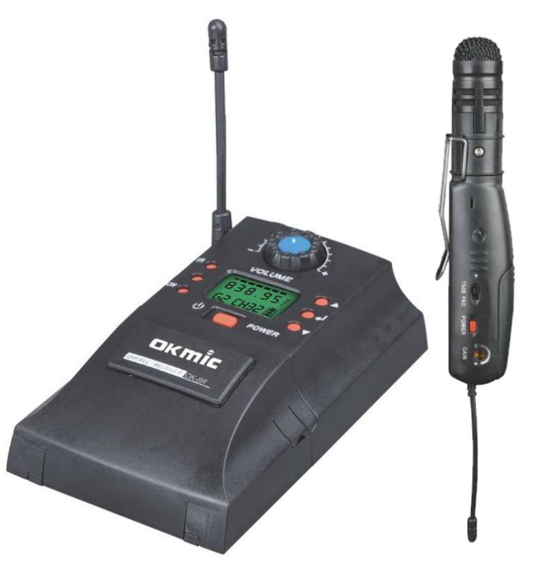 Mini Wireless Interview Microphone OK-8R/AH13