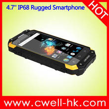 Unlocked Quad Core IP68 Waterproof 4.7 Inch HD Screen Alps X8G Android NFC China Rugged Smarthone 4G LTE