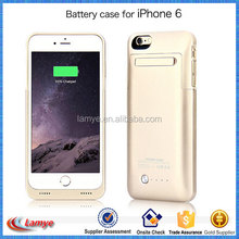 2016 New Arrival External Battery Case Charger for iPhone 6/6plus, 3500mAh Li-Polymer Battery Alibaba Gold Member 7 Years