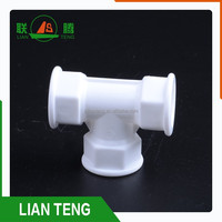 Honesty and Credit tee pipe fittings material of plastic