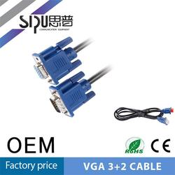 SIPU Wholesale price high quality female vga to rca