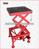 Mini scissor motorcycle lift table scissior jack with spring hook CE