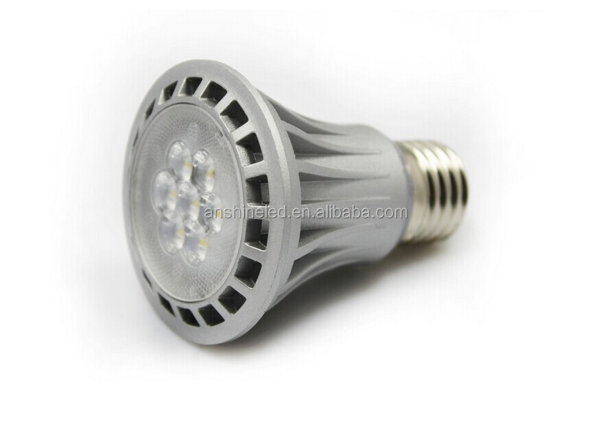 3 years warranty CE UL 8w par20 led e27 dimmable led light bulbs