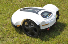 Cordless Robot LawnMower TC-158N, robot grass trimmer with Timing system