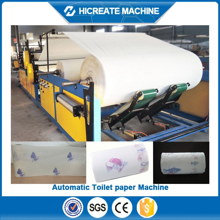 Low price of waste carton to toilet paper machine for wholesale