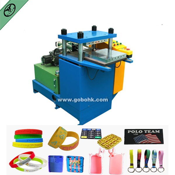 silicon wristbands rubber bands bracelets making machine