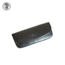 Pattern Pu Leather Material Semi Hard High Quality Soft Glasses Case
