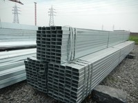 Excellent Material Alibaba Suppliers galvanized rectangle hollow section