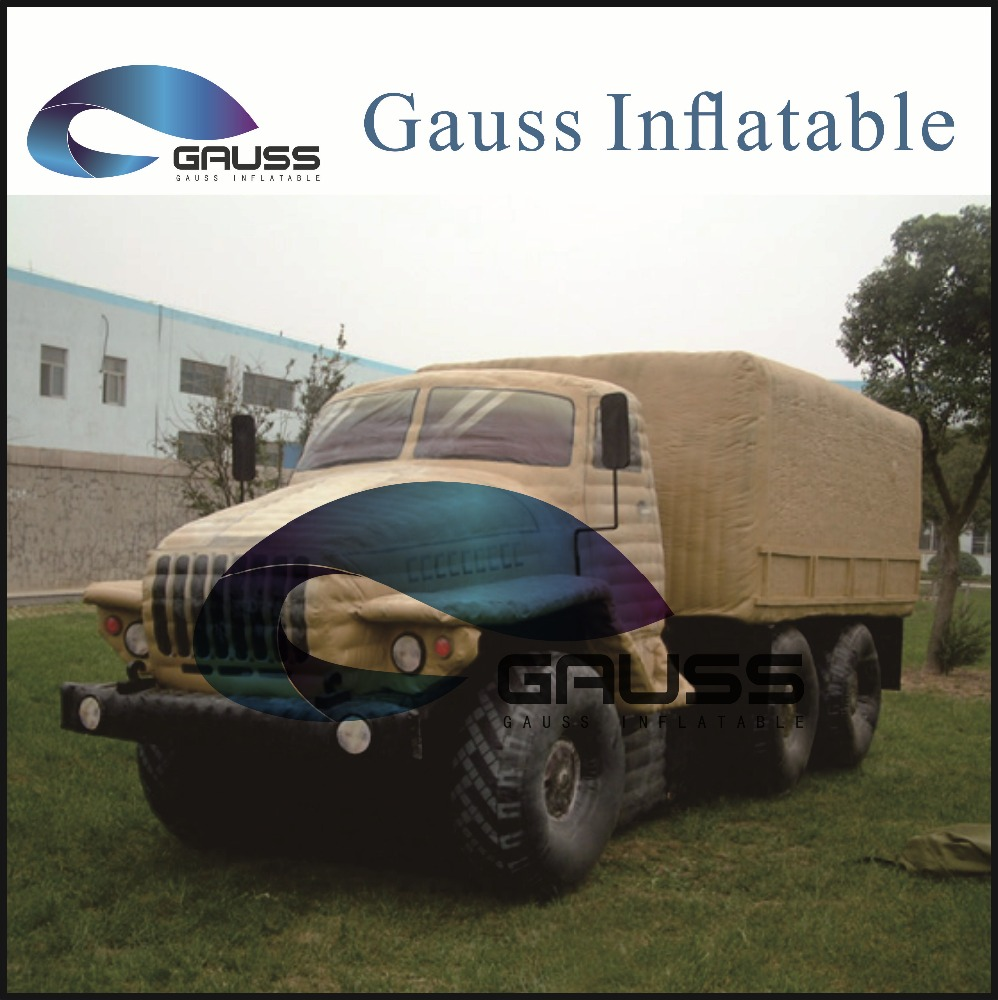 Inflatable military trucks URAL Truck