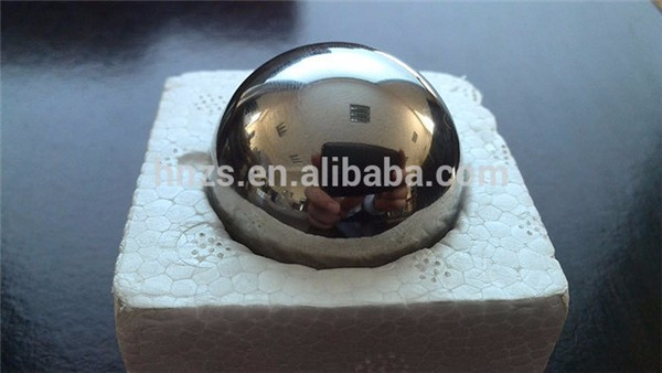 Oil gas industry stainless steel pipeline valve balls